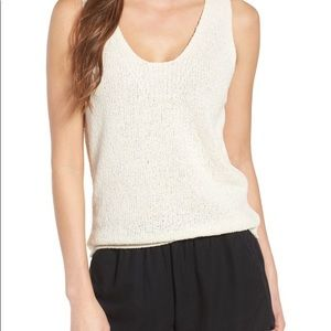 Madewell Springdale Sweater tank XS